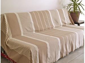 fouta nid d 39 abeille noire drap de hammam. Black Bedroom Furniture Sets. Home Design Ideas
