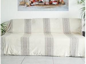 grande fouta xl xxl coton jet de lit de canap nappe. Black Bedroom Furniture Sets. Home Design Ideas