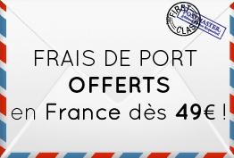 Youpi ! Les Frais de Port sont Offerts dès 49€ sur essentiellement.com