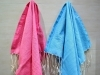 Lot 2 Mini Fouta Rose & Bleu - Nid d'Abeille