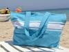 Maxi Sac de Plage Bleu Caraïbes en Fouta