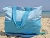 Maxi Sac Bleu Caraïbes / Blanc Nid d'Abeille en Fouta