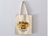 "Sac Tote bag ""Be Happy and Smile"""