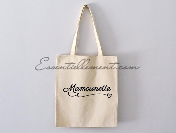 """Sac Tote bag """"Mamounette"""""""
