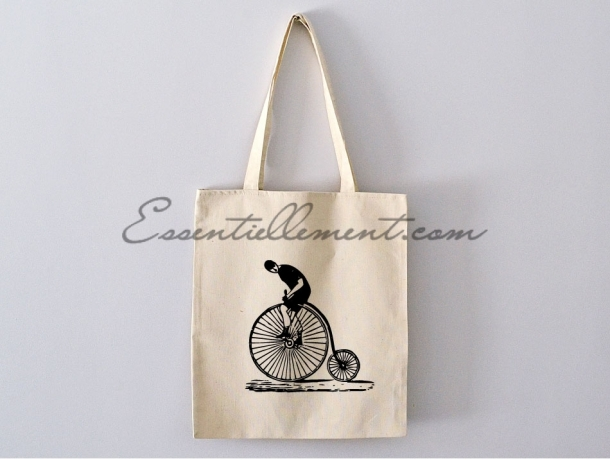 "Sac ToteBag ""Old Bicycle"""