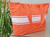 Maxi Sac de plage Orange Corail en Fouta