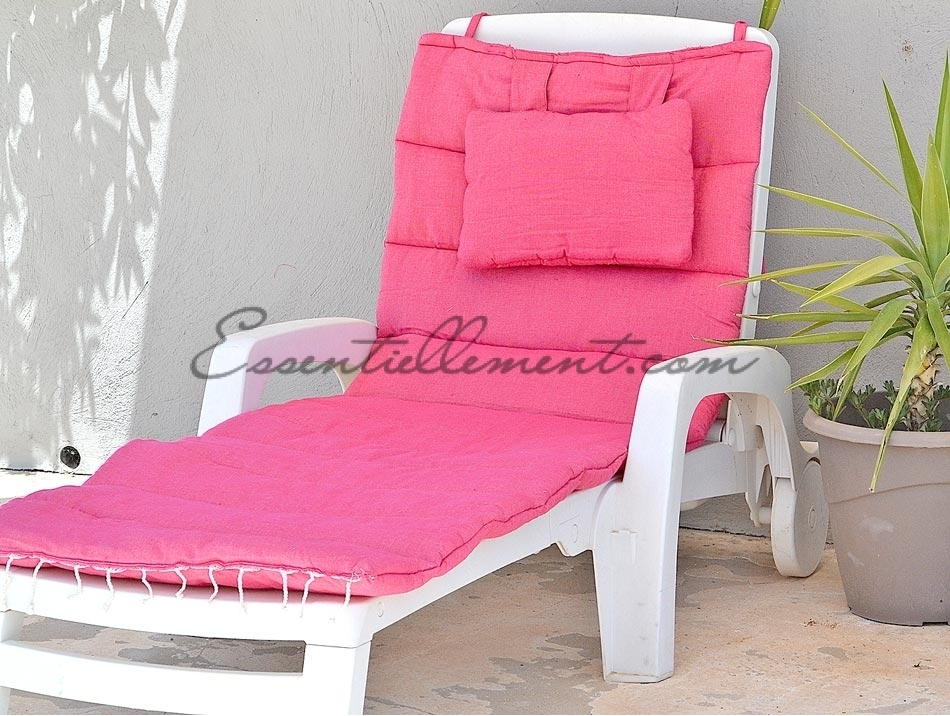 matelas bain de soleil de transat rose fushia uni matelas de sol. Black Bedroom Furniture Sets. Home Design Ideas