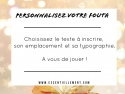 Fouta Nid d'Abeille Rose Fushia / Or à personnaliser