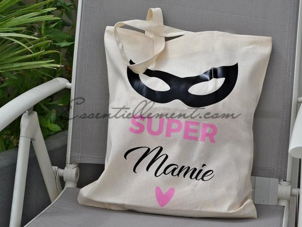 """Sac Tote bag """"Super Mamier"""""""