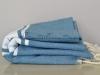Fouta plate Bleu Jeans Original
