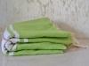 Fouta plate Vert Bambou