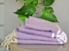 Fouta plate Violet Lilas