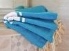 Fouta plate Bleu Sidi Bou Saïd