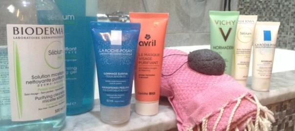 Produits soin pour peau mixte